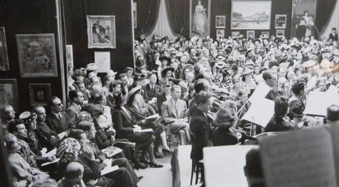 Erik Satie aux Concerts de La Pléiade