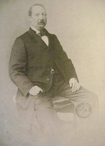 Portrait de Charles Hetzel, Archives départementales de Maine-et-Loire, 11 Fi 966