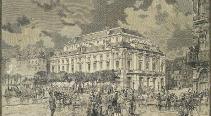 Le second Théâtre des Arts de Rouen (1882-1940)