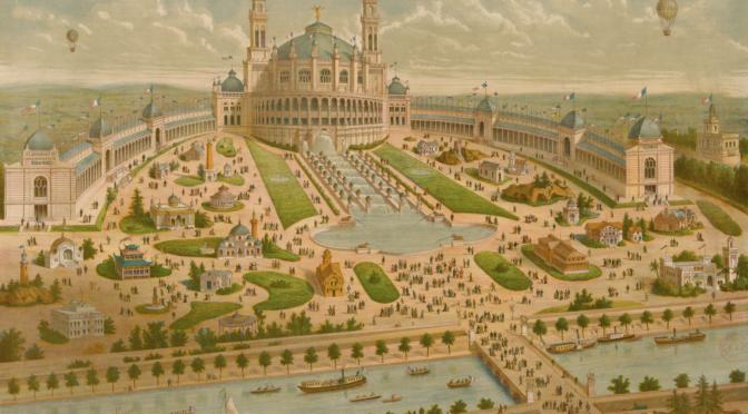 Musique au Trocadéro pour l'Exposition universelle de 1878