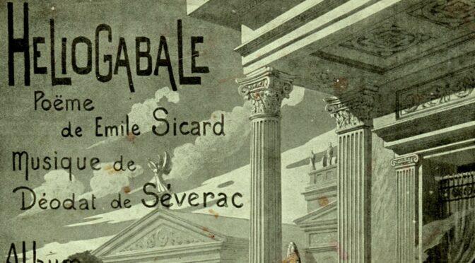 <em>Héliogabale</em> dans les arènes de Béziers (1910)
